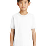 Port & Company Youth Core Short Sleeve Crewneck T-Shirt - White
