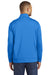 Port & Company PC590Q Mens Dry Zone Performance Moisture Wicking Fleece 1/4 Zip Sweatshirt Royal Blue Back