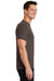 Port & Company PC61 Mens Essential Short Sleeve Crewneck T-Shirt Brown Side