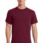 Port & Company Mens Essential Short Sleeve Crewneck T-Shirt - Cardinal Red