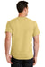 Port & Company PC61 Mens Essential Short Sleeve Crewneck T-Shirt Daffodil Yellow Back