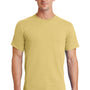 Port & Company Mens Essential Short Sleeve Crewneck T-Shirt - Daffodil Yellow