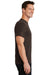 Port & Company PC61 Mens Essential Short Sleeve Crewneck T-Shirt Chocolate Brown Side