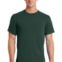 Port & Company Mens Essential Short Sleeve Crewneck T-Shirt - Dark Green