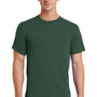 Port & Company Mens Essential Short Sleeve Crewneck T-Shirt - Forest Green