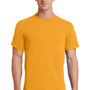 Port & Company Mens Essential Short Sleeve Crewneck T-Shirt - Gold