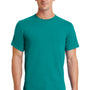 Port & Company Mens Essential Short Sleeve Crewneck T-Shirt - Jade Green