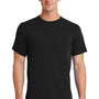 Port & Company Mens Essential Short Sleeve Crewneck T-Shirt - Jet Back