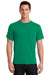 Port & Company PC61 Mens Essential Short Sleeve Crewneck T-Shirt Kelly Green Front