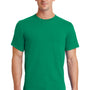 Port & Company Mens Essential Short Sleeve Crewneck T-Shirt - Kelly Green