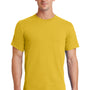 Port & Company Mens Essential Short Sleeve Crewneck T-Shirt - Lemon Yellow