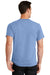 Port & Company PC61 Mens Essential Short Sleeve Crewneck T-Shirt Light Blue Back
