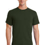 Port & Company Mens Essential Short Sleeve Crewneck T-Shirt - Olive Green