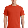 Port & Company Mens Essential Short Sleeve Crewneck T-Shirt - Orange