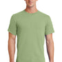 Port & Company Mens Essential Short Sleeve Crewneck T-Shirt - Pistachio Green