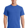 Port & Company Mens Essential Short Sleeve Crewneck T-Shirt - Royal Blue