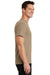 Port & Company PC61 Mens Essential Short Sleeve Crewneck T-Shirt Sand Brown Side