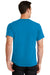 Port & Company PC61 Mens Essential Short Sleeve Crewneck T-Shirt Sapphire Blue Back