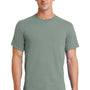 Port & Company Mens Essential Short Sleeve Crewneck T-Shirt - Stonewashed Green