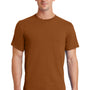 Port & Company Mens Essential Short Sleeve Crewneck T-Shirt - Texas Orange