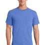 Port & Company Mens Essential Short Sleeve Crewneck T-Shirt - Ultramarine Blue