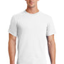 Port & Company Mens Essential Short Sleeve Crewneck T-Shirt - White