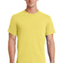 Port & Company Mens Essential Short Sleeve Crewneck T-Shirt - Yellow
