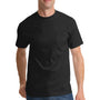 Port & Company Mens Essential Short Sleeve Crewneck T-Shirt w/ Pocket - Jet Back
