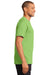 Port & Company PC61P Mens Essential Short Sleeve Crewneck T-Shirt w/ Pocket Lime Green Side