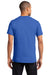 Port & Company PC61P Mens Essential Short Sleeve Crewneck T-Shirt w/ Pocket Royal Blue Back