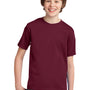 Port & Company Youth Essential Short Sleeve Crewneck T-Shirt - Cardinal Red