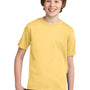 Port & Company Youth Essential Short Sleeve Crewneck T-Shirt - Daffodil Yellow