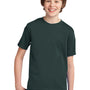 Port & Company Youth Essential Short Sleeve Crewneck T-Shirt - Dark Green