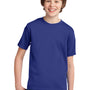 Port & Company Youth Essential Short Sleeve Crewneck T-Shirt - Deep Marine Blue