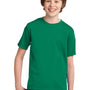 Port & Company Youth Essential Short Sleeve Crewneck T-Shirt - Kelly Green
