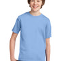 Port & Company Youth Essential Short Sleeve Crewneck T-Shirt - Light Blue