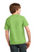Port & Company PC61Y Youth Essential Short Sleeve Crewneck T-Shirt Lime Green Back