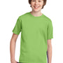 Port & Company Youth Essential Short Sleeve Crewneck T-Shirt - Lime Green