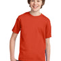 Port & Company Youth Essential Short Sleeve Crewneck T-Shirt - Orange