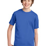 Port & Company Youth Essential Short Sleeve Crewneck T-Shirt - Royal Blue