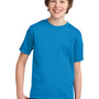 Port & Company Youth Essential Short Sleeve Crewneck T-Shirt - Sapphire Blue