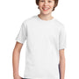 Port & Company Youth Essential Short Sleeve Crewneck T-Shirt - White