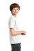 Port & Company PC61Y Youth Essential Short Sleeve Crewneck T-Shirt White Side