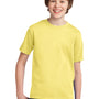 Port & Company Youth Essential Short Sleeve Crewneck T-Shirt - Yellow