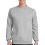 Port & Company Mens Core Fleece Crewneck Sweatshirt - Ash Grey