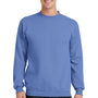 Port & Company Mens Core Fleece Crewneck Sweatshirt - Carolina Blue