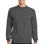 Port & Company Mens Core Fleece Crewneck Sweatshirt - Charcoal Grey