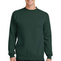 Port & Company Mens Core Fleece Crewneck Sweatshirt - Dark Green