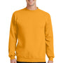 Port & Company Mens Core Fleece Crewneck Sweatshirt - Gold
