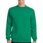 Port & Company Mens Core Fleece Crewneck Sweatshirt - Kelly Green